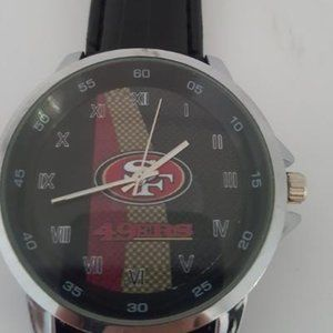San Francisco 49ers NFL Leather Watch
